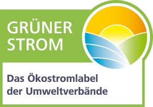 Grüner Strom Label der Umweltverbände.