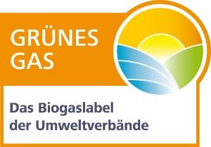 Grünes Gas Label der Umweltverbände.