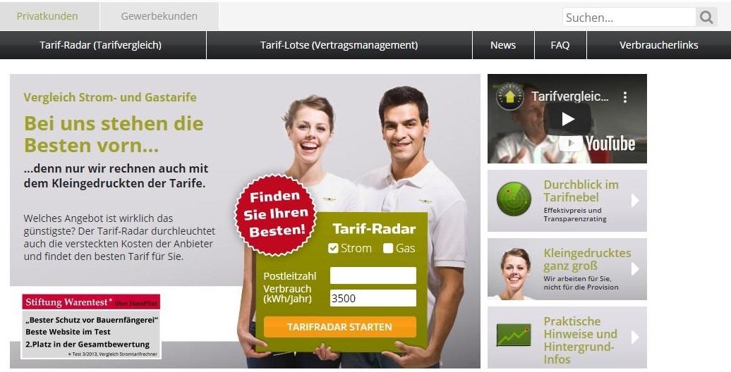Homepage Hauspilot Privatkunden