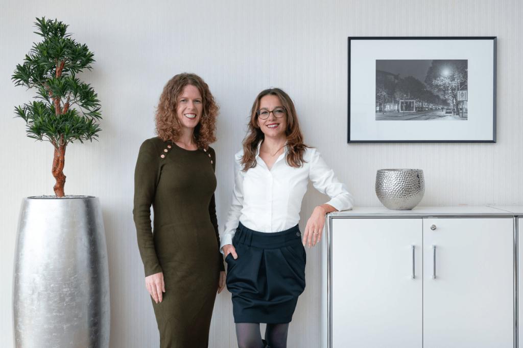 Caroline Bell und Karolina Decker von FinMarie.