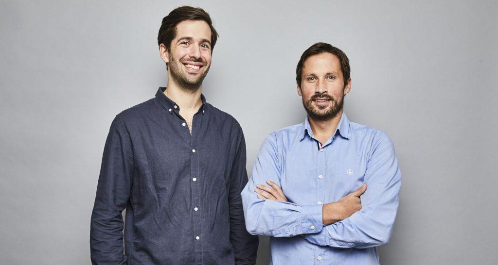 V.l.n.r.: Wechselpilot-Gründer Maximilian Both und Jan Rabe.